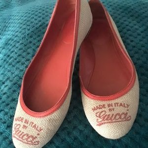 Made in Italy by Gucci Flats!